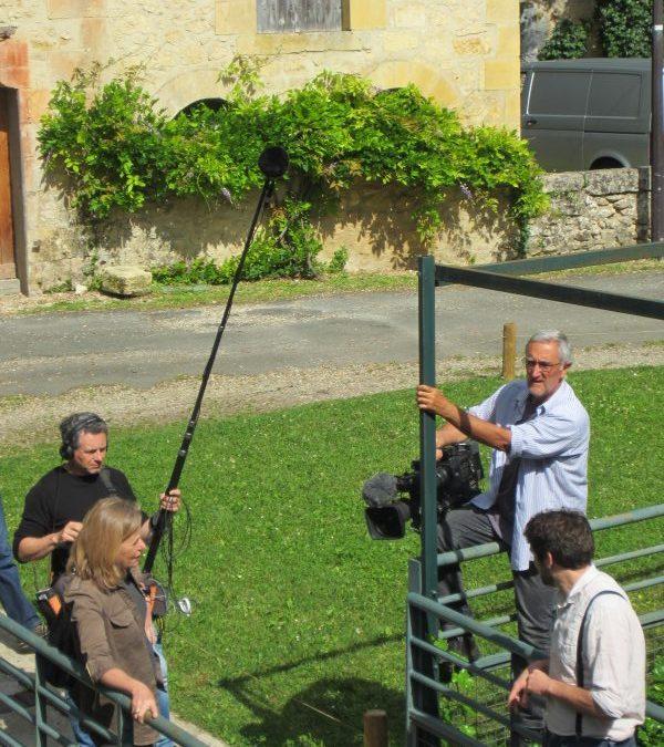 Tournage de Télé-Matin au Moulin de la Rouzique