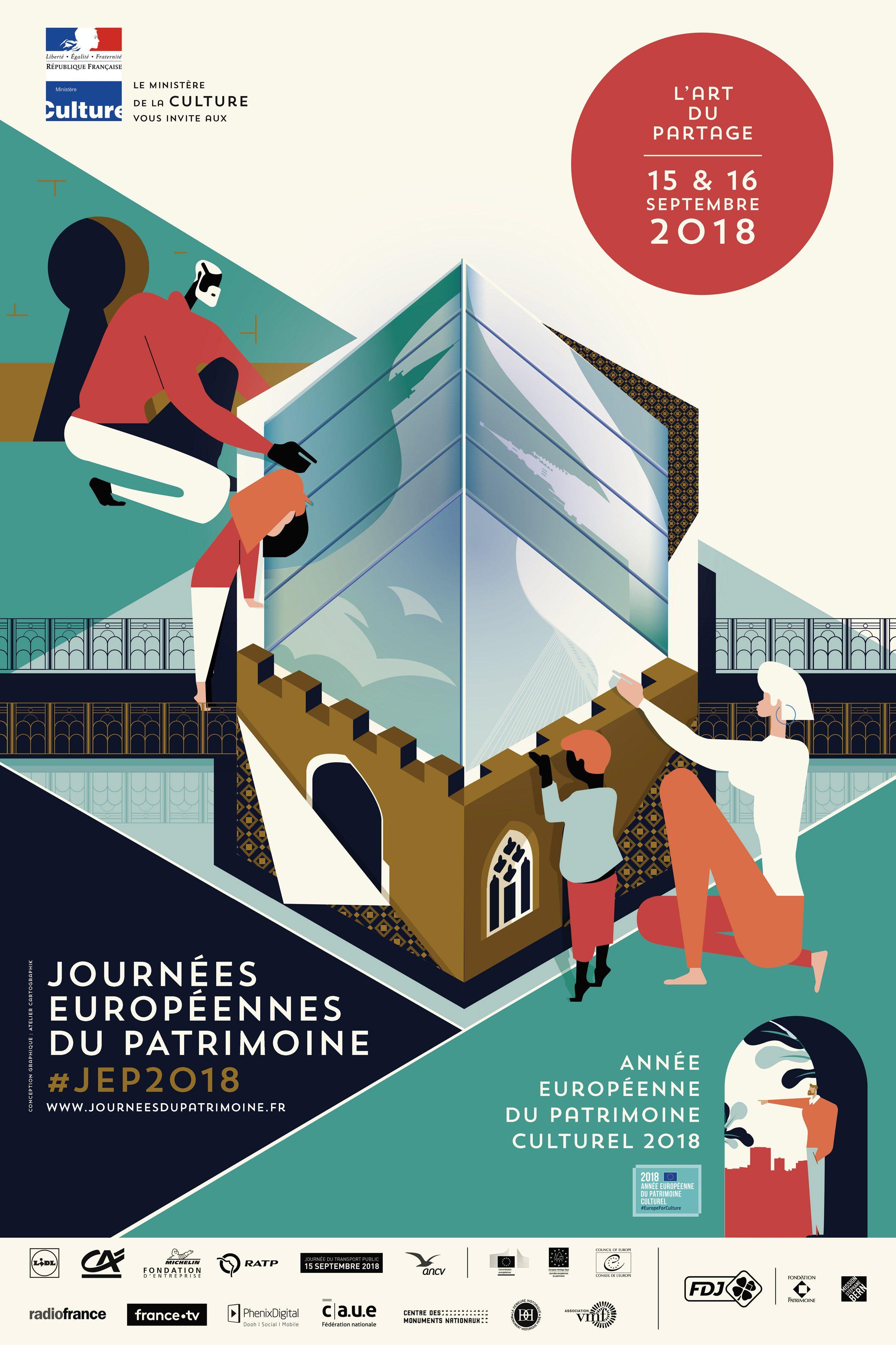 Les Journées du Patrimoines 2018 au Moulin de la Rouzique