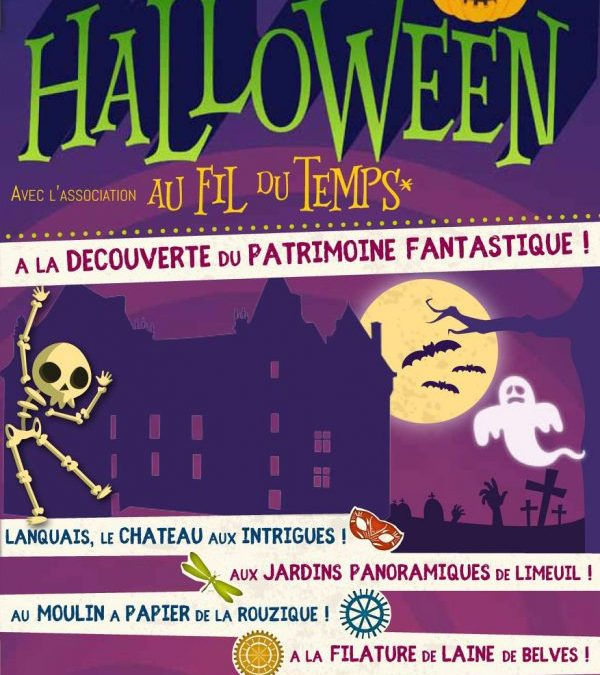 Halloween au Moulin de la Rouzique !